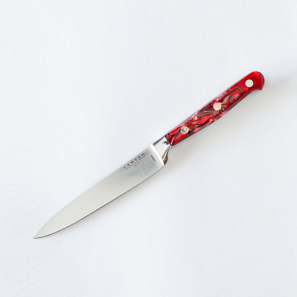 "5"" Premier Forged Fine-Edge (or) Serrated Steak Knives - Lamson"