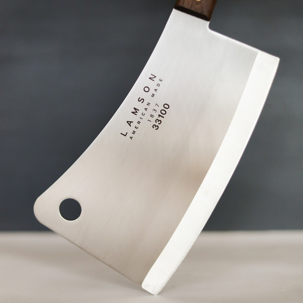 "7.25"" Meat Cleaver (Walnut Handle) - Lamson"