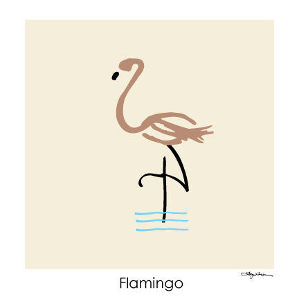 NEW LOW PRICE/Flamingo