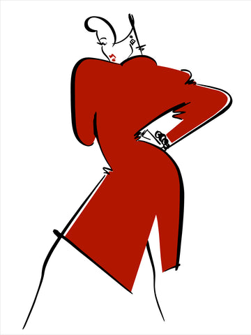 Fashion Illustration/Eve: Pop of Color 2 of 4
