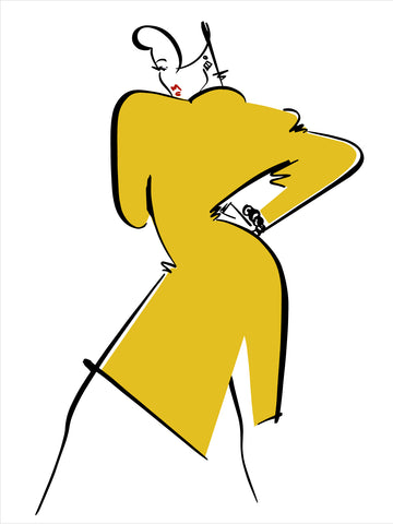Fashion Illustration/Eve: Spot Color 3 of 4