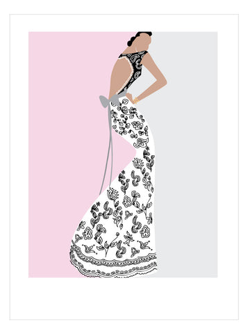 NEW LOW PRICE/Fashion Illustration No 4