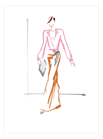 NEW LOW PRICE/Fashion Illustration No 9