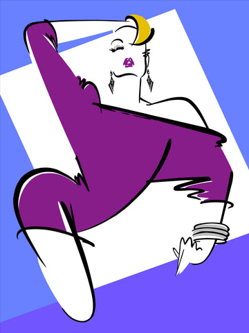 Fashion Illustration/Jessie: Full Color 4 of 4