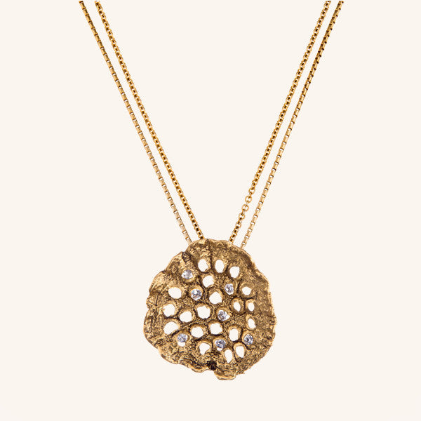 Ganna's Lotus Necklace