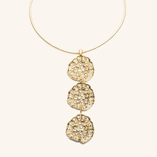 Lotus Pod Collar Necklace