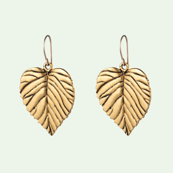 Heart Leaf Earrings