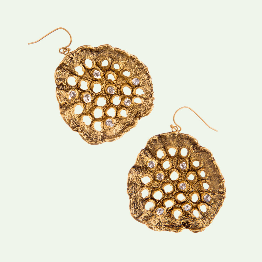 Lotus Pod Earrings