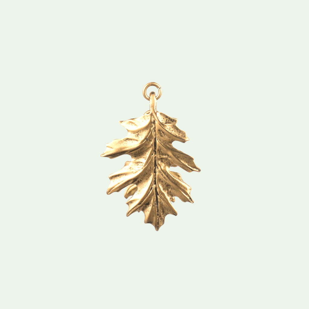 Oak Leaf Large Charm