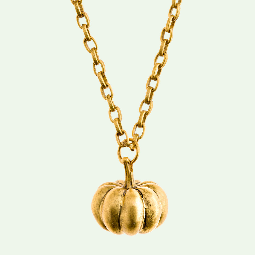 Pumpkin Large Necklace