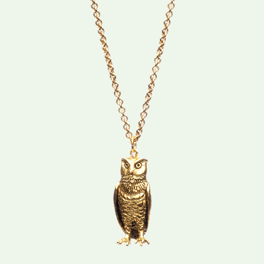 Bubo the Owl Pendant Necklace