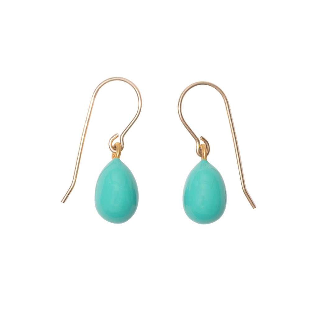 Robin's Egg Earrings