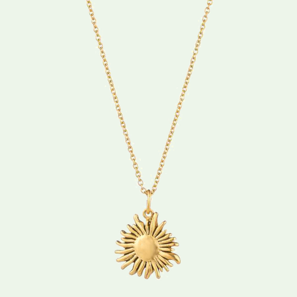 Sunflower Le Petit Pendant Necklace