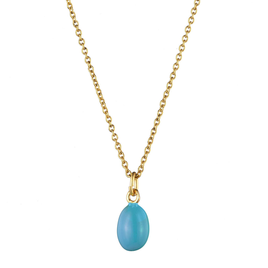 Egg Pendant Necklace
