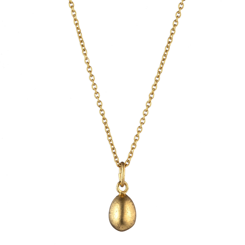 Gold Egg Necklace