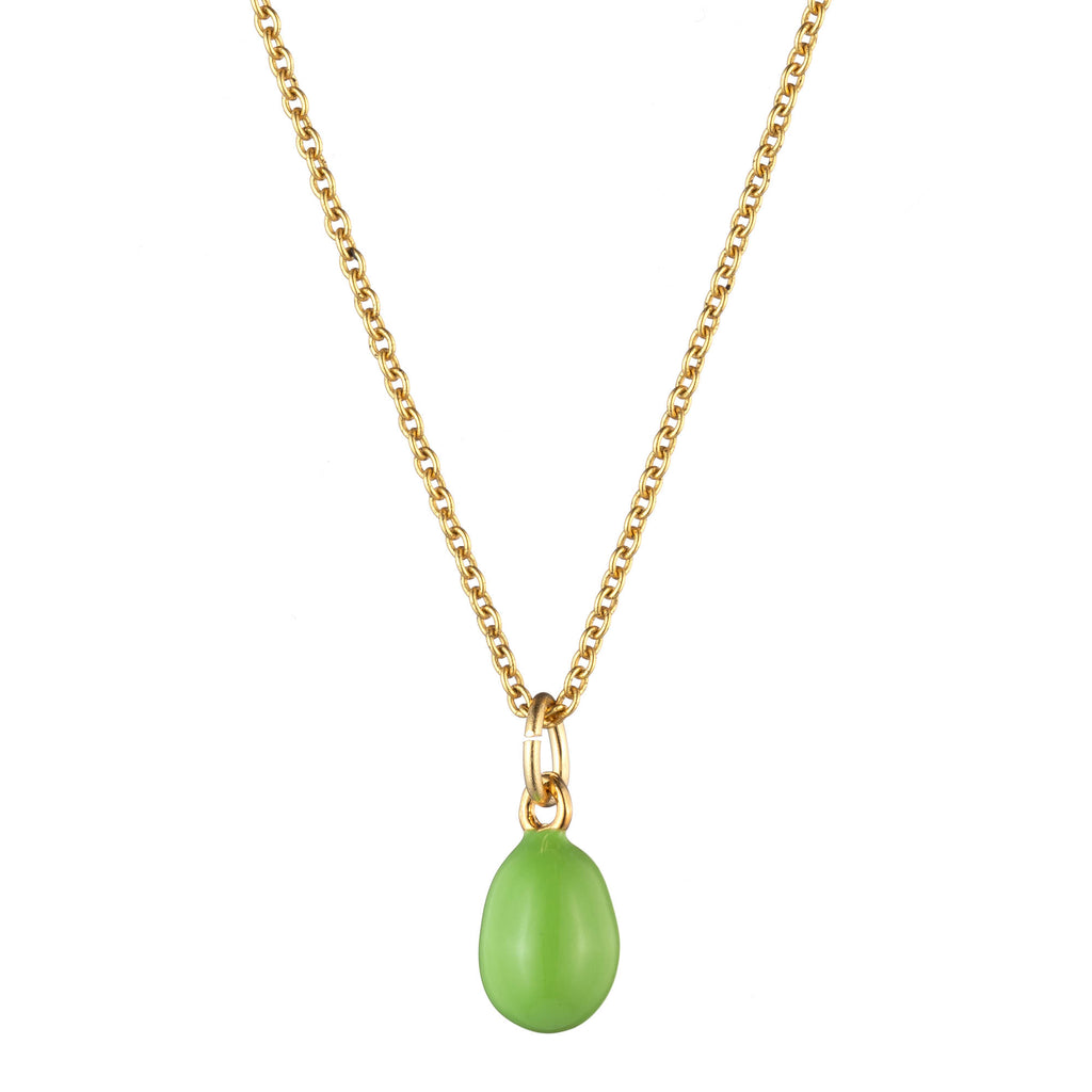 Green Egg Necklace