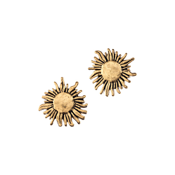 Sunflower Post Earrings