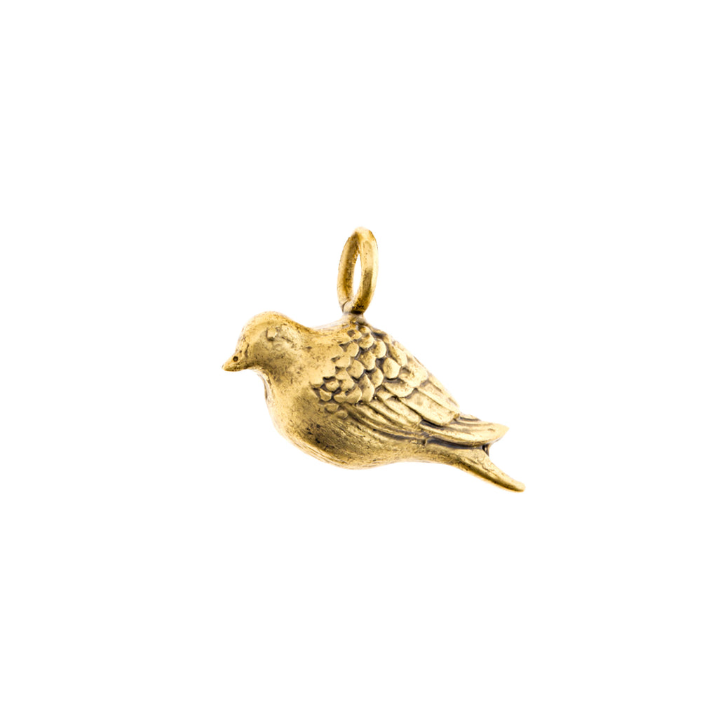 Peace Dove Medium Charm