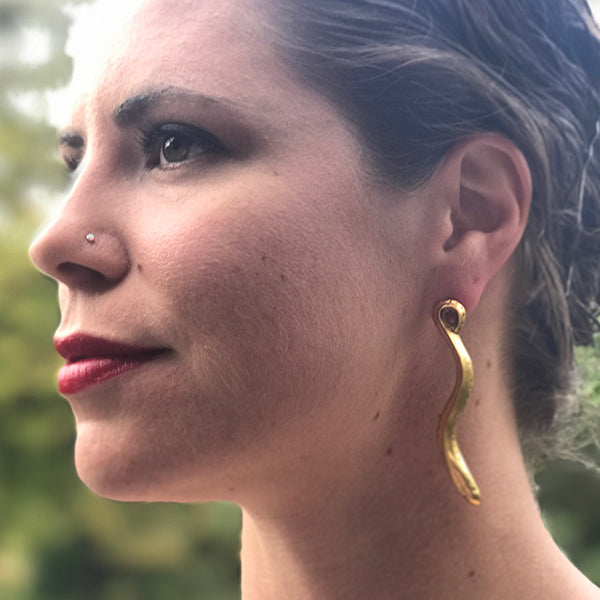 Eel Drop Earrings