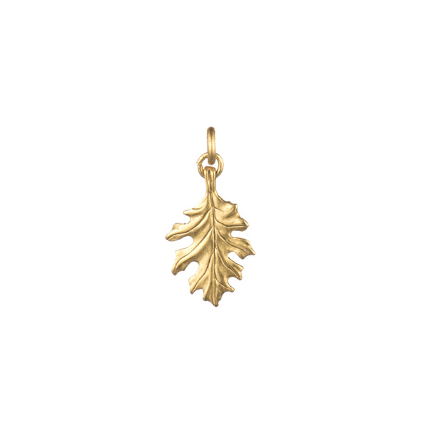 Oak Leaf Small Charm