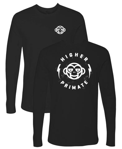 Circle Monkey Long Sleeve Tee