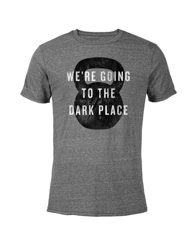 Dark Place Tee - Grey Heather