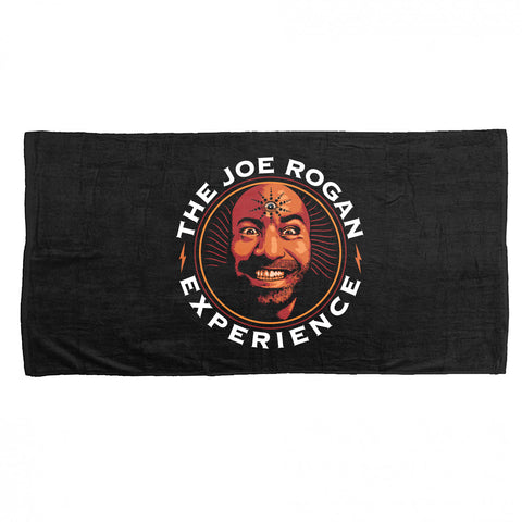 JRE Podcast Logo Beach Towel