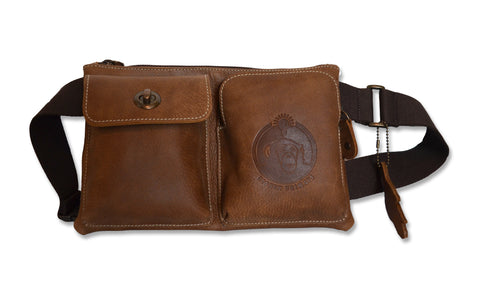 "Signature HP/Roots Bag - Brown 34"" - 42"""