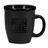 Run JRE Black on Black Mug