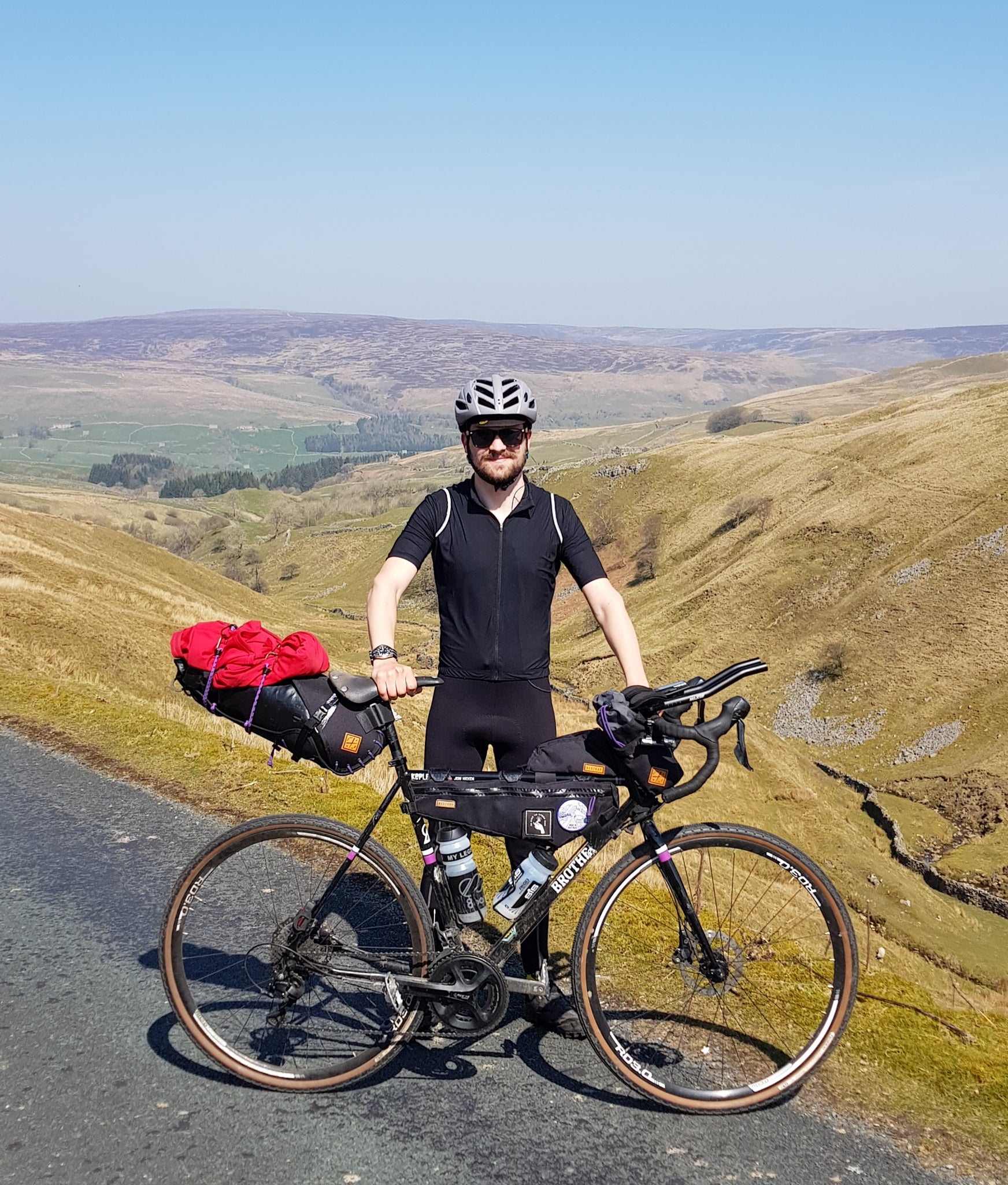 restrap bikepacking mull riding solo