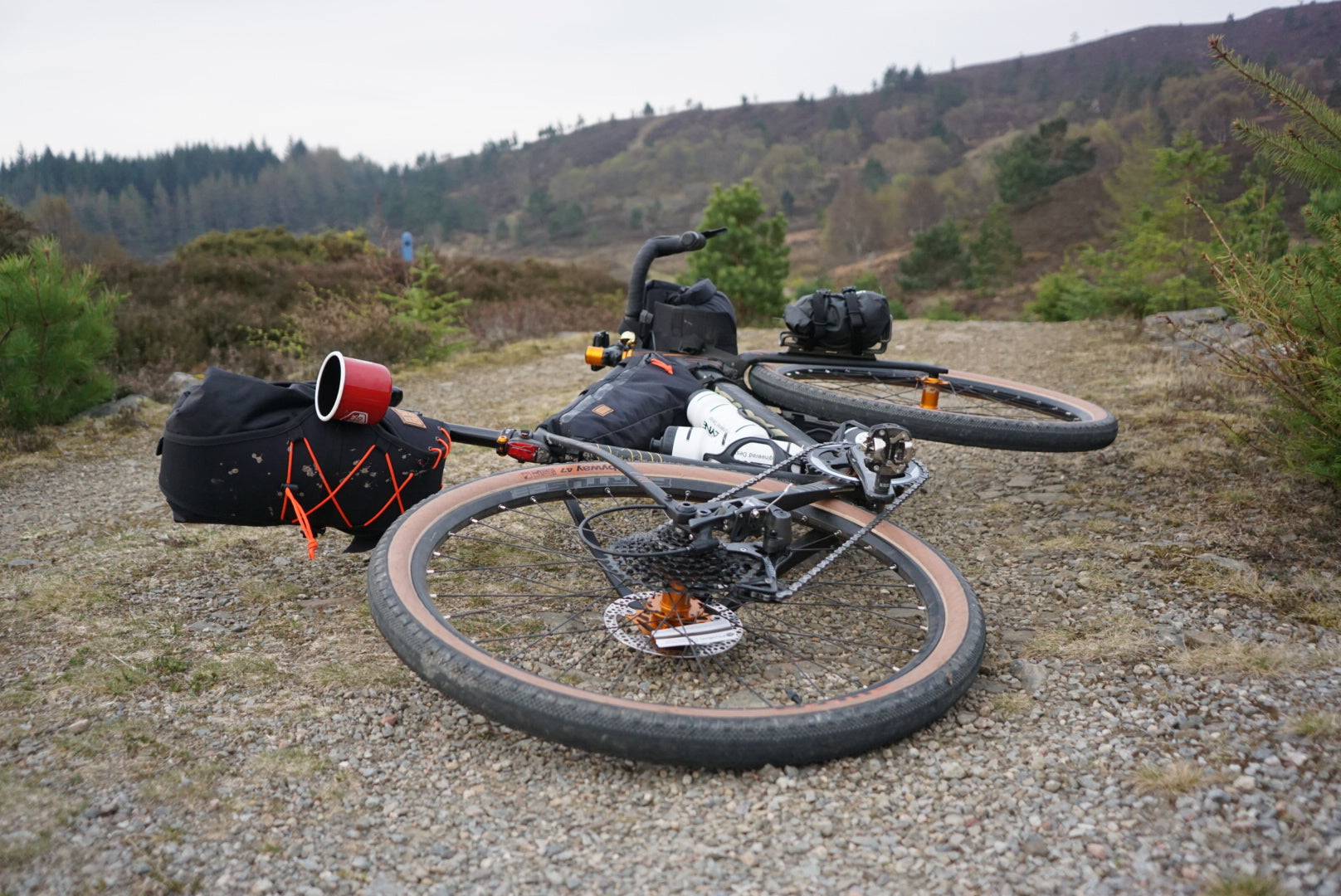 restrap bikepacking self supported