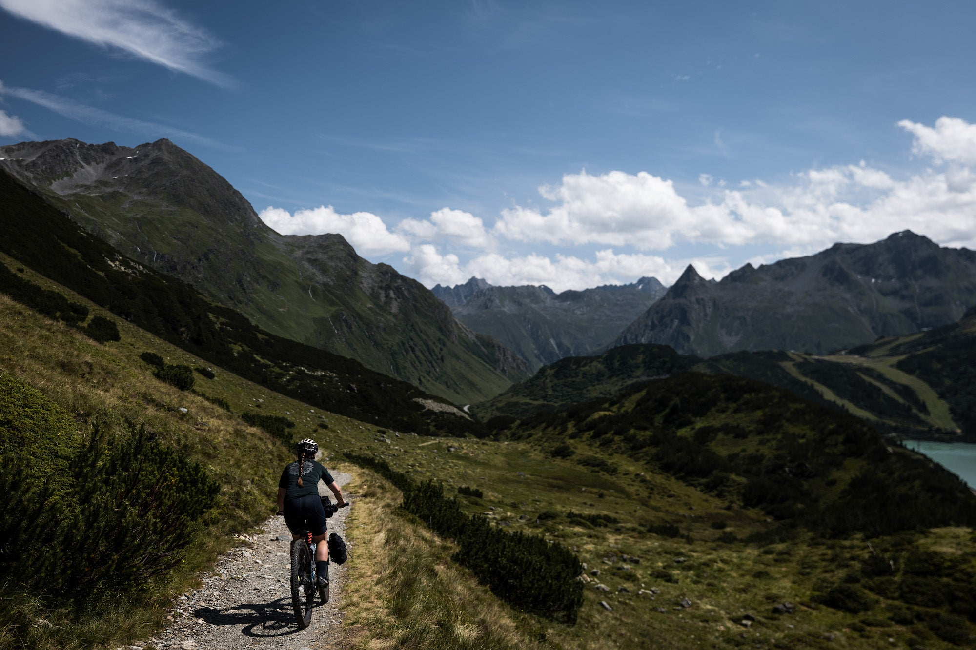 bikepacking restrap alps self supported