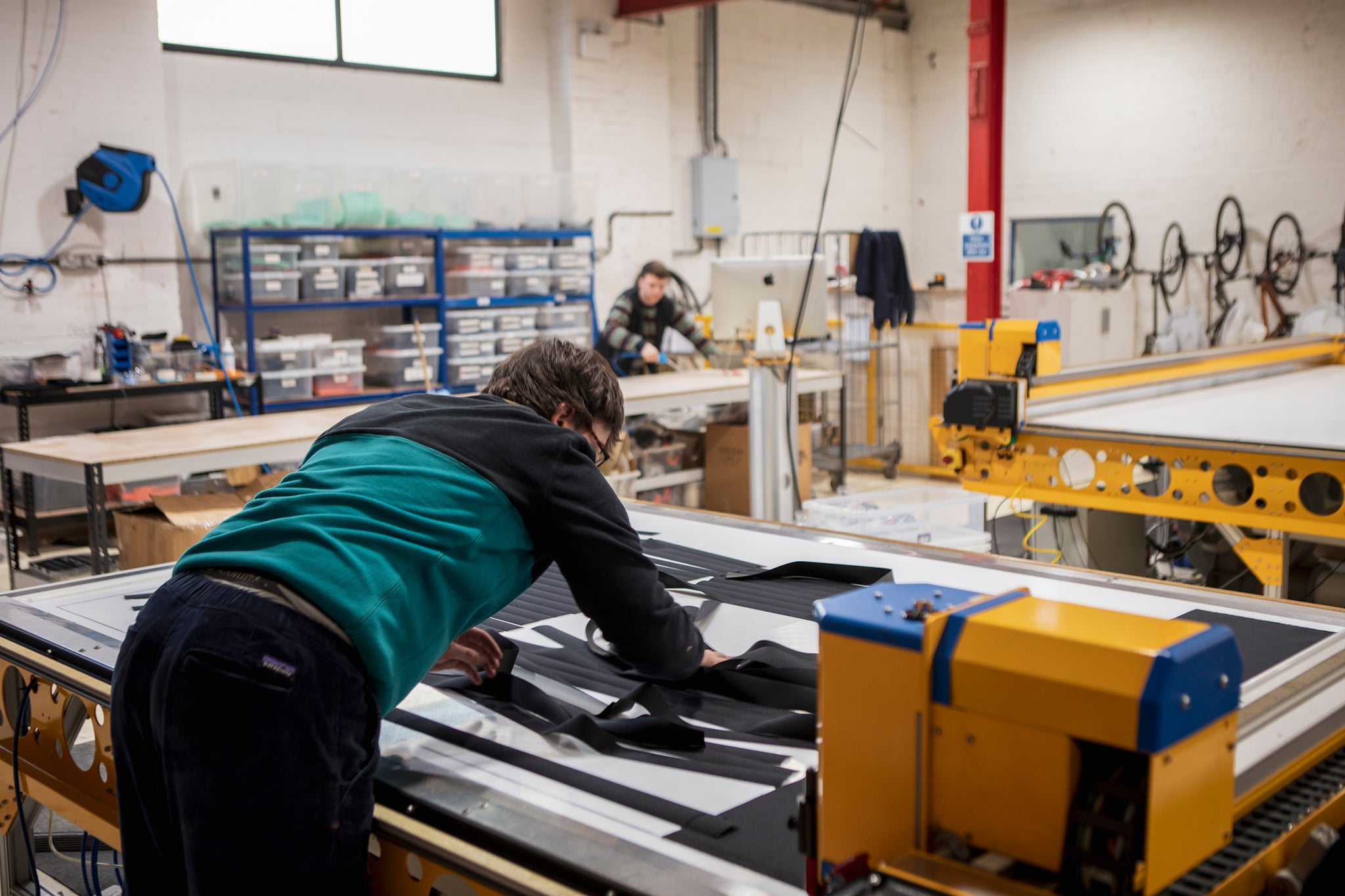 Restrap bikepacking cycle touring factory workshop