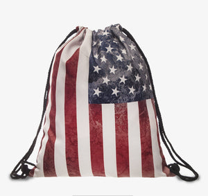 'The Patriot' Drawstring Bag