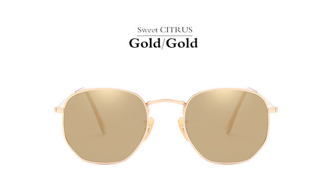 The 'Thru the Wire' Aviator Style Sunglasses