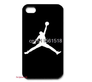 "Phone Case Cover For iphone 6 6s 4.7"" 5 5s 4 4s Cool Jordan Patterns Hard Plastic Mobile phone bags Back Cover"