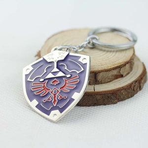 Legend of Zelda Shield of Hyrule Keychain