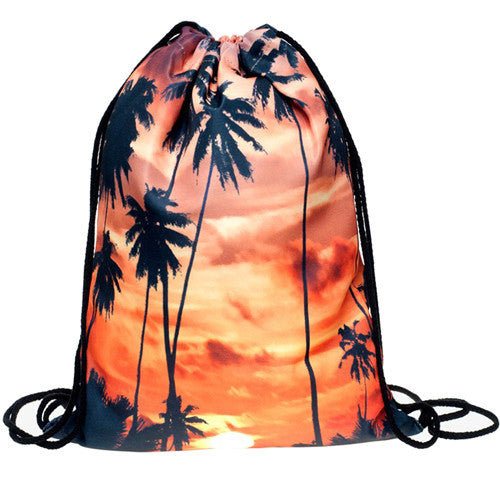 The 'Sunset on Cali' Drawstring