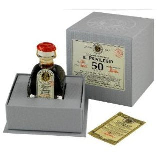 Mussini Privilegio 50 Year Old Traditional Balsamic Vinegar of Modena