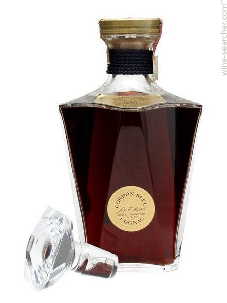 Martell Cordon Bleu Cognac in Baccarat Crystal Bottle