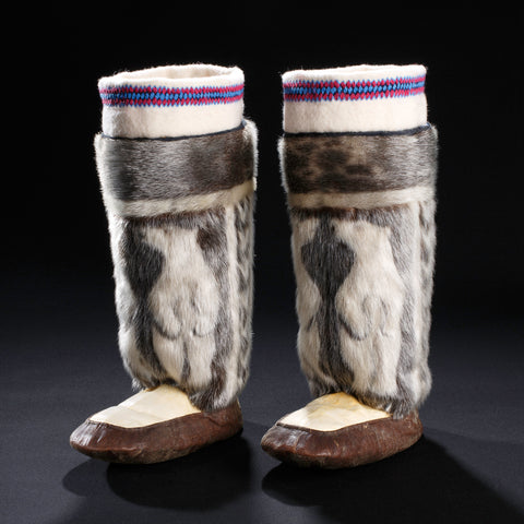 Polar Bears Boots - Image ©2019 The Bata Shoe Museum