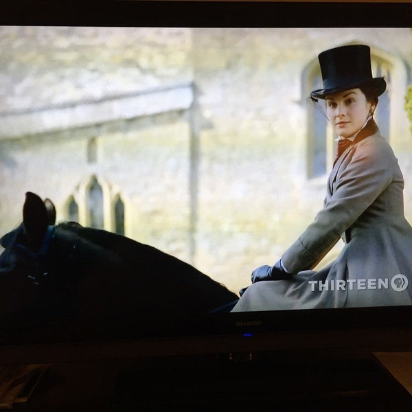 Lady Mary Crawley Dressed to Ride to Hounds