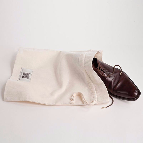 Men's Luxury Flannel Shoe Bags