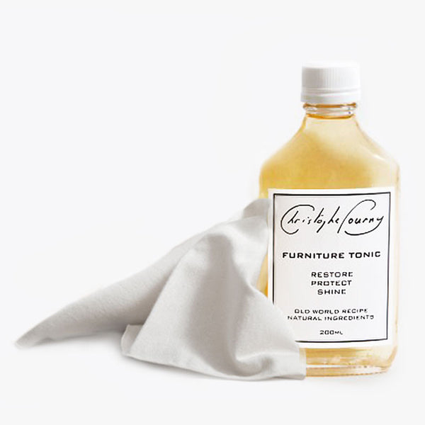 Christophe Pourny Furniture Tonic: & Flannel Polishing Cloths