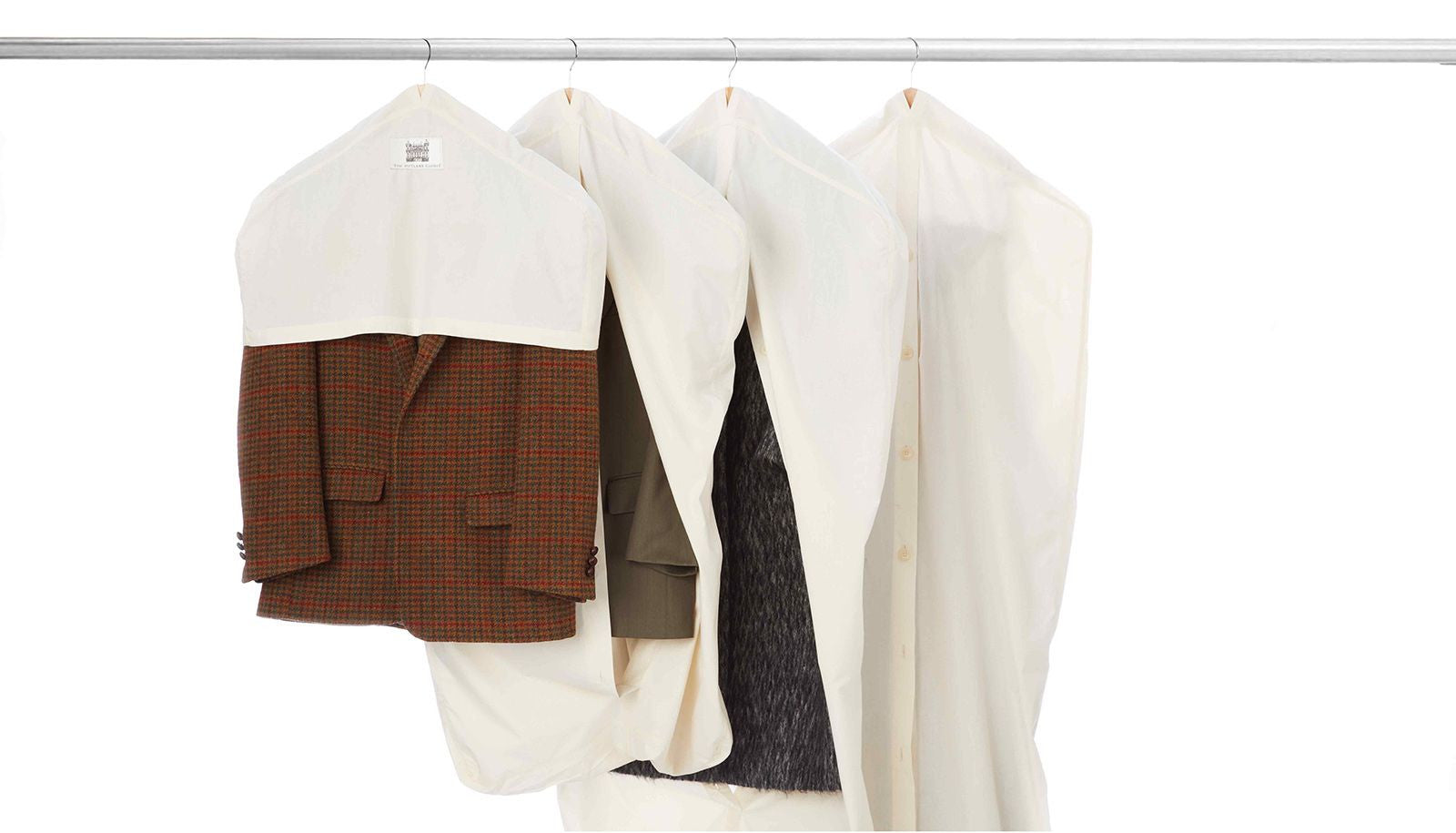 The Butler's Closet Cotton Garment Covers