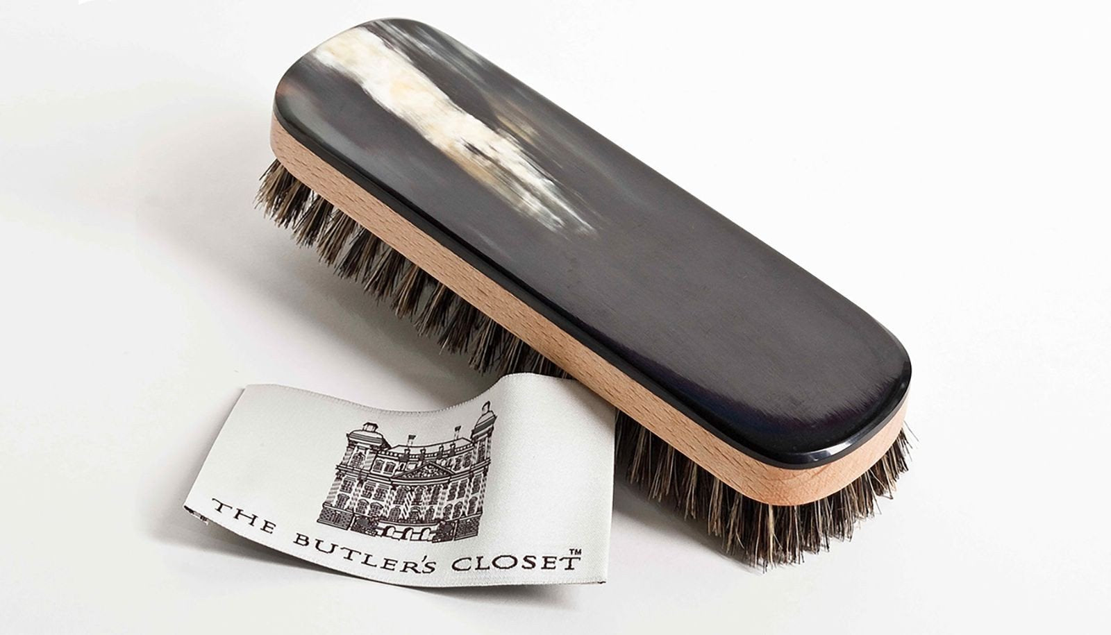 The Butler's Closet English Horn Clothes Brush
