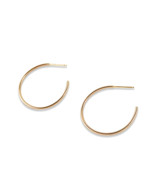 Gia large hoops
