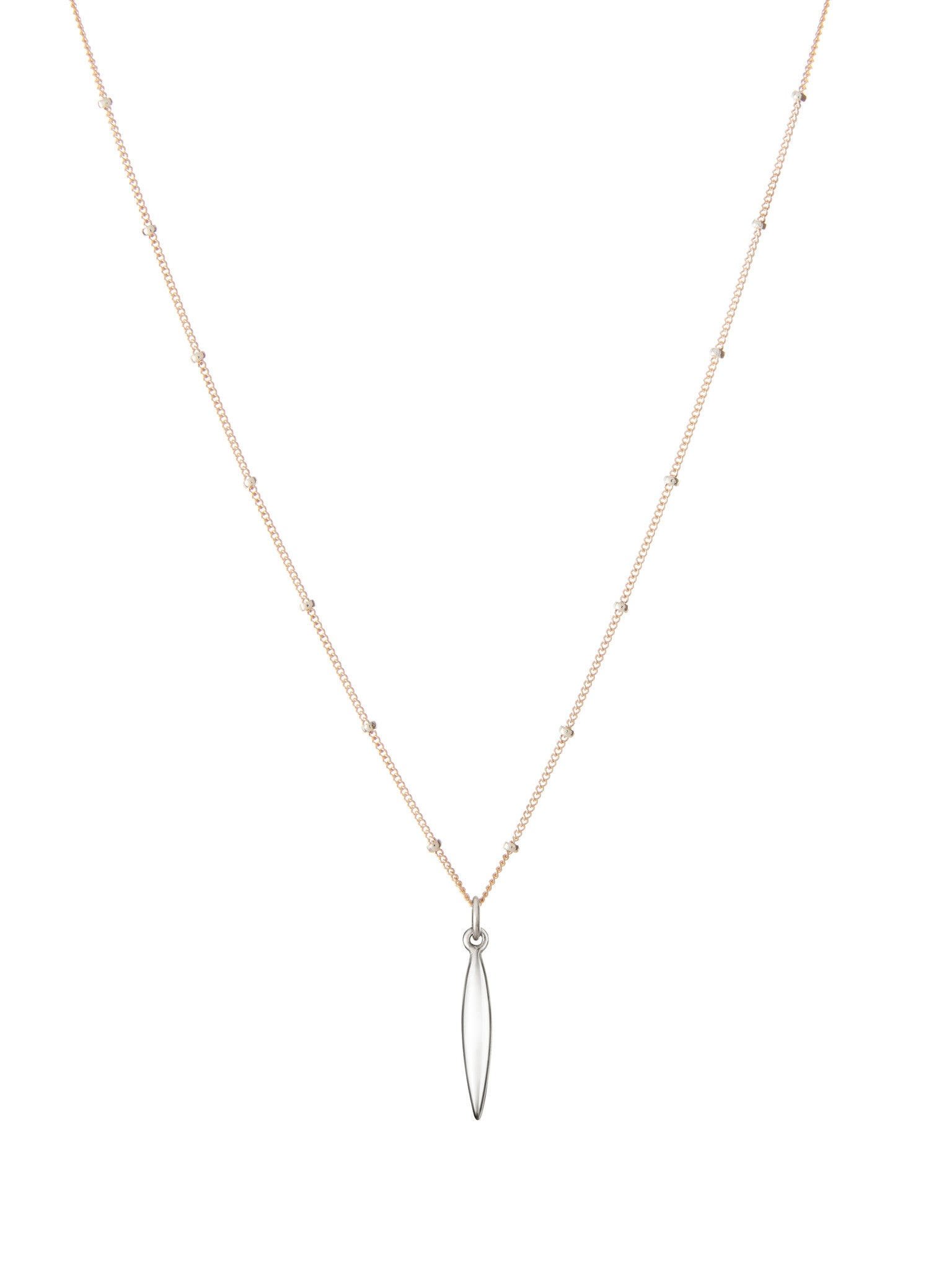 Serena rose gold necklace