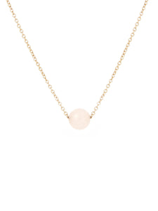 Mason single quartz necklace