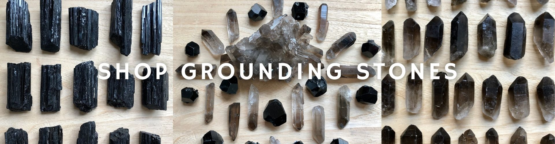 Shop our collection of grounding crystals and stones